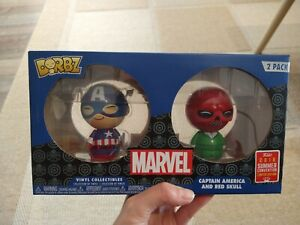 Captain America and Red Skull Dorbz 2 pack SDCC Exclusive Funko