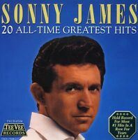 Sonny James - 20 All Time Greatest Hits [New CD]