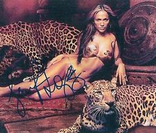 Jennifer Lopez (See Thru) Dance Again Booty Shades of Blue J-ROD SIGNED RP 8x10