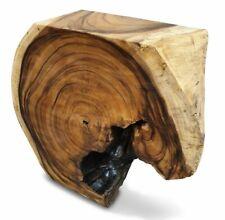 Sideboard massiv Massivholz Baumscheibe Wurzel Suar Holz Konsolentisch Konsole