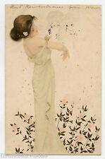 RAPHAEL KIRCHNER .  Femme Art Nouveau .  Woman