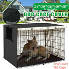 48 Extra Large Giant Breed Dog Crate Kennel XL Pet Wire Cage Huge Folding Cover