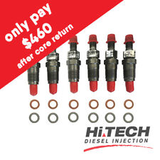 Diesel injectors x6 093500-5500 23600-17020 suits Toyota 1HZ Landcruiser (late)