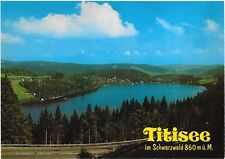 Titisee I'm Schwarzwald Germany Post Card