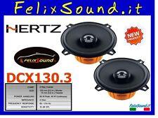 Hertz DCX130.3 2 vie Coax 80 W Nuovi  2013 GARANZIA Italia