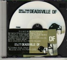 (DO908) Small Town Melodies (EP), Deadsville Df - 2013 DJ CD
