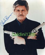 CHARLES BRONSON SIGNED 10X8 PHOTO, GREAT MOVIE STILL IMAGE, LOOKS GREAT FRAMED