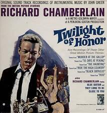 JOHN GREEN / RICHARD CHAMBERLAIN ~ TWILIGHT OF HONOR ~ 1963 US 12-TRACK LP
