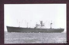 VINTAGE , S.S. AMERICAN LEADER , SHIP PHOTO POSTCARD