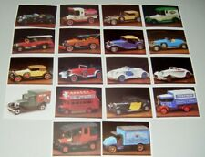Vintage Sanitarium Collector Cars Cards x18