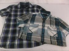 Men's two Medium Casual Shirt Bundle American Eagle Outfitters & Guess 100016