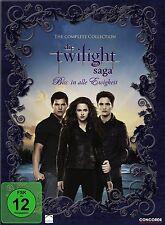 11 DVDs * Die Twilight Saga - Biss in alle Ewigkeit DIE Komplettbox # NEU OVP $