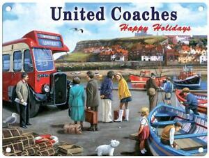 United Coaches metal sign 400mm x 300mm (og)