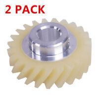 2 x Mixer Fiber Worm Gear For KitchenAid Whirlpool AP4295669 PS1491159 W10112253