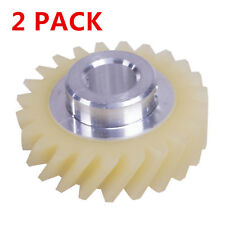 2 x Mixer Fiber Worm Gear For KitchenAid Whirlpool AP4295669 PS1491159 W10112253