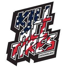 Officiel Hoonigan Ken Bloc Kill Tout Pneus Sticker Autocollant