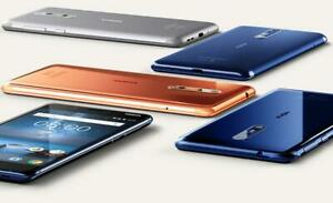 "Original Nokia 8 Single/Dual SIM 4G LTE 4GB RAM 64GB ROM 5.3"" 13MP Android Phone"