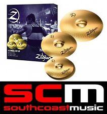 "Zildjian PLZ4PK Planet Z Cymbal BoxSet 14"" Hi Hats 16"" Crash 20"" Ride Cymbals"