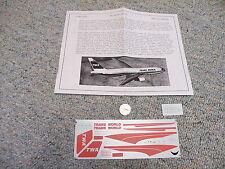 Flight Path decals 1/200 FP20-10 TWA Boeing 767-200  A24
