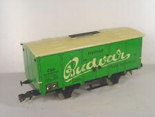 Budvar CSD Bierwagen - ETS Spur 0 Blechspielzeug Wagen - #1017  #E - gebr.