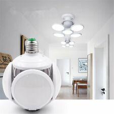 40W Foldable LED football Style Bulb 6500K E27 Garage Light Deformable Daylight