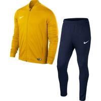 Tuta Rappresentanza Uomo Nike Knit Tracksuit Academy 16 University 739 Gold/Obsi