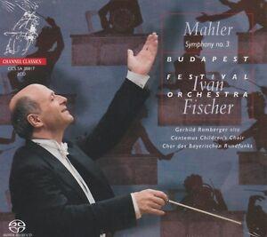 MAHLER: SYMPHONY NO.3: BUDAPEST FESTIVAL ORCHESTRA: FISCHER (2SACD)