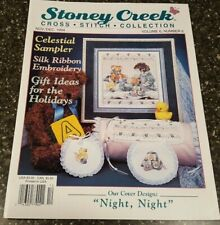 Stoney Creek Collection Magazine Cross Stitch Pattern Nov / Dec 1994