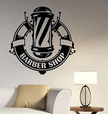 Barbershop Wall Decal Window Sticker Vinyl Art Hair Hairdressing Salon Decor bs7