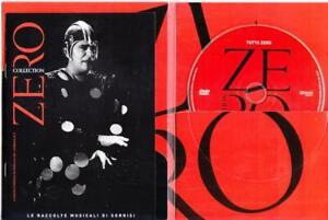 Renato Zero TUTTO ZERO TOUR '96 i migliori anni della nostra vita dvd come nuovo