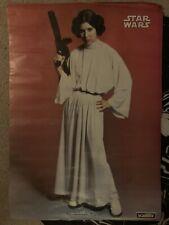 More details for star wars princess leia scanlite large vintage poster