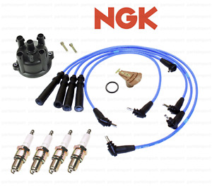 Ignition Tune-Up Kit NGK Spark Plugs & Wires for Toyota Pickup 4Runner 2.4L 22RE