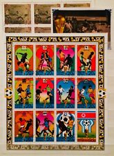 * FOOTBALL SPECIAL - 3 SOUVENIR MINI SHEETS 1 XL SIZE THEMATIC STAMPS 09210618 *