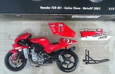 MINICHAMPS 1:12 MOTO YAMAHA YZR M1 CARLOS CHECA MOTOGP 2002 ART 122 026307