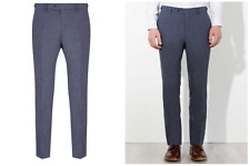 John Lewis & Co Talbot Milled Crossweave Tailored Trousers Size 34S £100 BNWT
