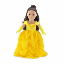 18 Inch Doll Clothes | Gorgeous Princess Belle-Inspired Ball Gown Outfit with