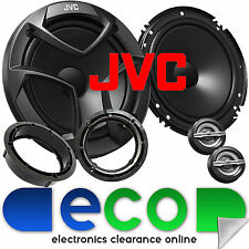 VW Polo 6R 2009-2014 JVC 16cm 600 vatios 2 vías Puerta Coche Altavoces De Componentes