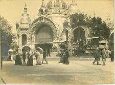 France, Paris, le palais des mines et de la métallurgie  vintage print,Exposit