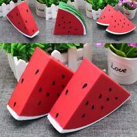 Decompression Squeeze Toy PU Watermelon Stress Reliever Slow Rebound Fruit LrJNE