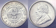 2 Shillings 1893 Sudafrica South Africa Argento Silver #7020A