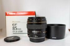 Canon EF 85mm f 1,8 USM