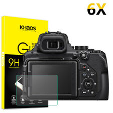 6X Khaos For Nikon COOLPIX P1000 Digital Camera Tempered Glass Screen Protector