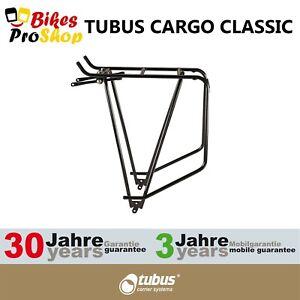 TUBUS Cargo CLASSIC Schwarz Bike Bicycle Rear Rack 2021