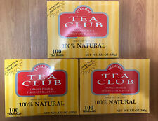 [Ceylon] 3box Tea Club Orange Pekoe & Pekoe Cut Black 100% Natural (300)Tea Bags
