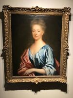 17th 18th century Portrait of an English Lady Circle of Michael Dahl Kneller oil