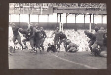 REAL PHOTO 1930 GREEN BAY PACKERS VS NEW YORK GIANTS FOOTBALL GAME POSTCARD COPY