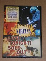 NIRVANA - LIVE! TONIGHT! SOLD OUT! - DVD SIGILLATO (SEALED)