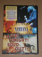 NIRVANA - LIVE! TONIGHT! SOLD OUT! - DVD SIGILLATO (SEALED)