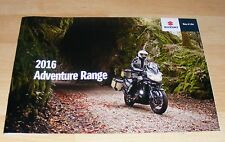 Suzuki Adventure Brochure 2016 - V-Strom 1000 V Strom 650 inc XT