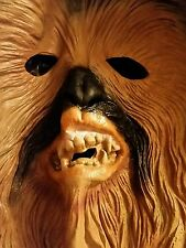 Star Wars Supreme Edition Chewbacca Costume Mask Brown Rubie's 2010 Lucas Films